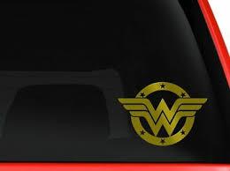 Dekoration Wonder Woman Rear Window Decal Graphic Sticker Car Truck Suv Van 531 Kabtel Mk