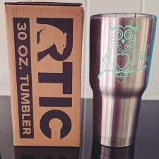 Find More 30oz Rtic Tumbler With Owl Decal For Sale At Up To 90 Off