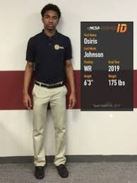 Osiris Johnson's Football Recruiting Profile