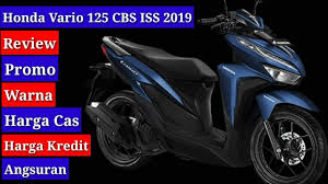 review vario 125 2019 type cbs iss