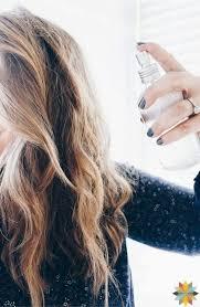 Homemade Alcohol Free Hair Spray that Works! Homemade Hair Spray