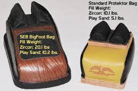 bag sand parison test within