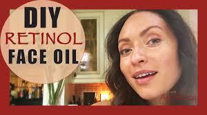 diy retinol oil anti aging pore