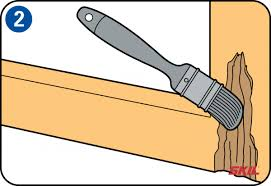 how to repair a wooden window frame