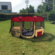 Pet Tent Dog Fence Portable Waterproof Kennels Folding Pet Dog Cat Tent House Outdoor Pet Cage Playpen Kennel Pet Delivery Room Houses Kennels Pens Aliexpress