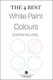 the 4 best white paint colours sherwin