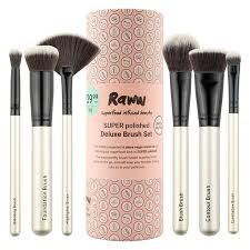 raww super polished 6 piece brush set