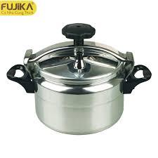 Nồi áp suất ga Fujika sử dụng được trên bếp từ - Màu trắng ( 3L - 4L - 5L -  7L - 9L - 11L )