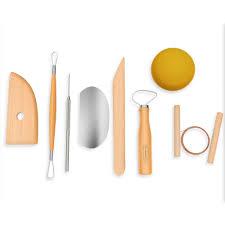 stalwart 8 piece pottery tool kit