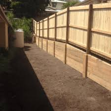 retaining wall brisbane timber rock