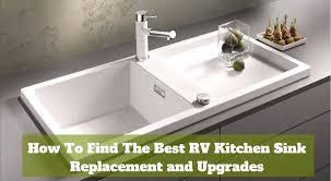 rv kitchen sink replacement