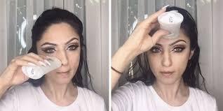 deodorant makeup hack