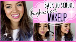 makeup tutorial for high