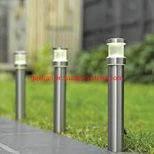 bollard solar pathway lights outdoor
