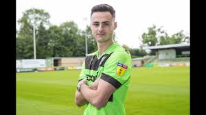 SIGNING | Striker Aaron Collins pens two-year-deal - YouTube