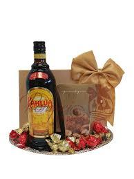 klic kahlua liqueur gift basket by