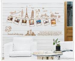 Removable Global Travel Wall Art Decal Stickers Worldwide Famous Building Home Decor Wall Sticker Mural Sweet Memory Photo Frame Wall Mural Vinyl Wall Decorations Vinyl Wall Graphic From Qiansuning8 15 13 Dhgate Com