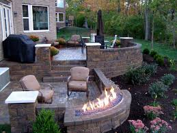 how to build stone patio wall