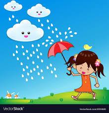 rain day 001 royalty free vector image
