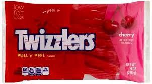 twizzlers cherry candy 9 oz