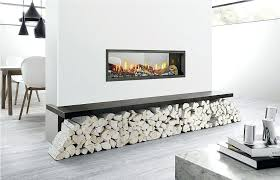 electric fireplace logs double inserts