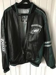 nfl philadelphia eagles leather jacket
