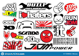 Japanese Car Decals Stock Illustrations 38 Japanese Car Decals Stock Illustrations Vectors Clipart Dreamstime