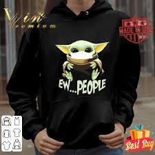Baby Yoda face mask ew people Coronavirus shirt, hoodie, sweater ...