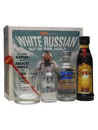 kahlua white russian gift set 2x20cl