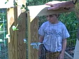 How To Construct A Garden Gate Avi Youtube