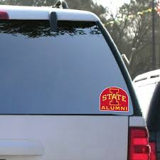 Iowa State University Window Decal Set Of 2 Alumni