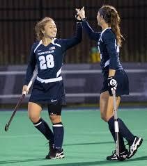 Gini Bramley (28) and Abby Myers (22) | | collegian.psu.edu