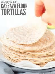 paleo cava flour tortilla recipe