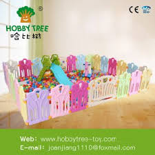 China Lovely Kids Playing Zone Safety Children Protection Fence Custom Plastic Baby Playpen China Indoor Plastic Game Fence Baby Safety Playpen