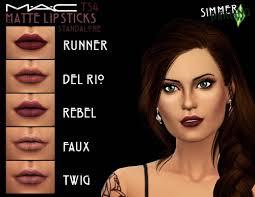matte mauve lipsticks by simarling