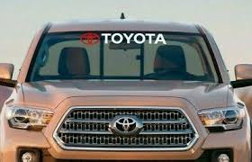 Toyota Tacoma Tundra Windshield Decal Sticker Rav 4 Toyota Trucks Vinyl Graphics Ebay