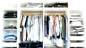 organize small walk in closet