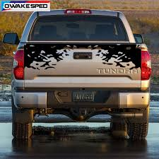 Splash Inglings Graphics Tail Vinyl Decals Pickup Trunk Decor Stickers For Toyota Tundra Exterior Accessories Waterproof Decal Car Stickers Aliexpress