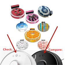 Skin Decal Vinyl Wrap For Xiaomi Robot Cleaner Roborock S50 S51 S52 S55 Robotic Sticker Slap Protective Film Vacuum Cleaner Parts Aliexpress