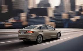 2017 ford fusion gets platinum and