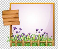 Stock Photography Illustration Hand Painted Flower Fence Png Clipart Free Cliparts Uihere