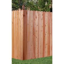 Severe Weather 6 Ft H X 8 Ft W Incense Cedar Dog Ear Fence Panel In The Wood Fence Panels Department At Lowes Com