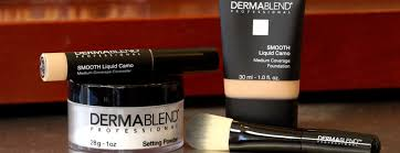 how to apply dermablend foundation 3