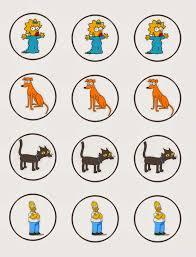 Los Simpson Invitaciones Tarjetas Toppers Y Stickers Para Imprimir Gratis Ideas Y Material Gratis Para Fiestas Y Celebraciones Oh My Fiesta