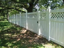 China 6 X 8 Semi Private Vinyl Fencing Lattice Backyard China White Vinyl Privacy Fence White Vinyl Privacy Fencing