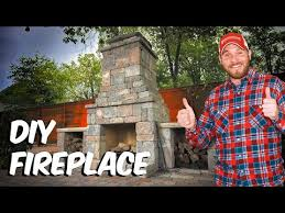 build a fremont diy outdoor fireplace