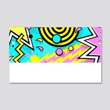 90s Cool Wall Decals Cafepress