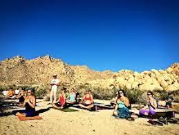 joshua tree hiking and yoga retreat