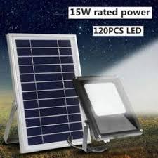 led night sensor solar floodlight light