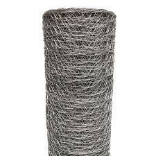 Acorn International Acorn 150 Ft X 6 Ft Silver Galvanized Steel Chicken Wire Garden Poultry Netting Rolled Fencing In The Rolled Fencing Department At Lowes Com